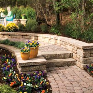 How to Build a Stone Path and Steps [Handyman magazine online]. Great for my slo
