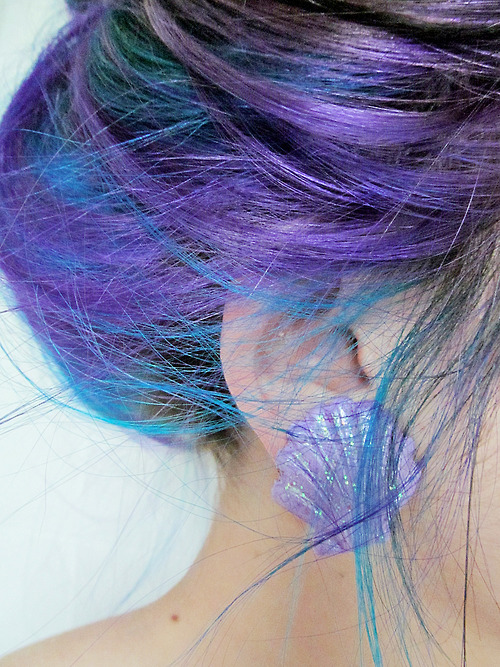 Inspiration. Talk to Taff about doing pimpin purple low lights on bangs then tur