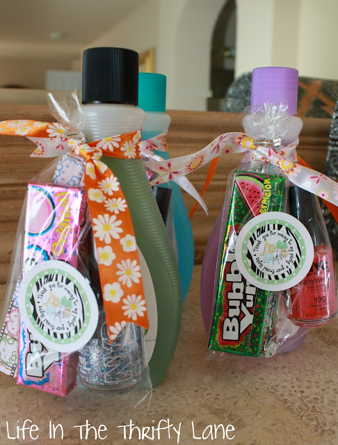 Party favor ideas