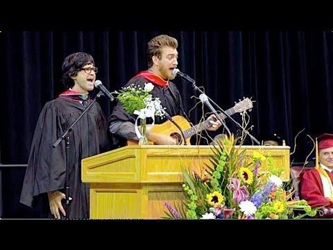 Graduation Speech By YouTubers Rhett & Link
