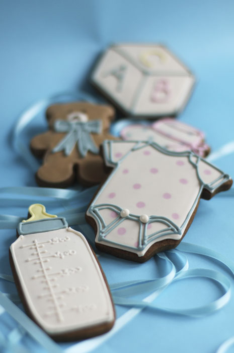 Baby Shower | Juliet Stallwood Cakes & Biscuits