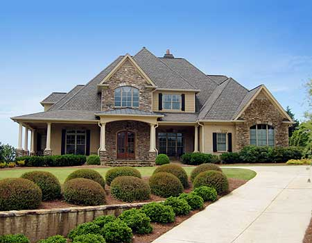 Wrap around porch we know how to do it for Southern luxury house plans