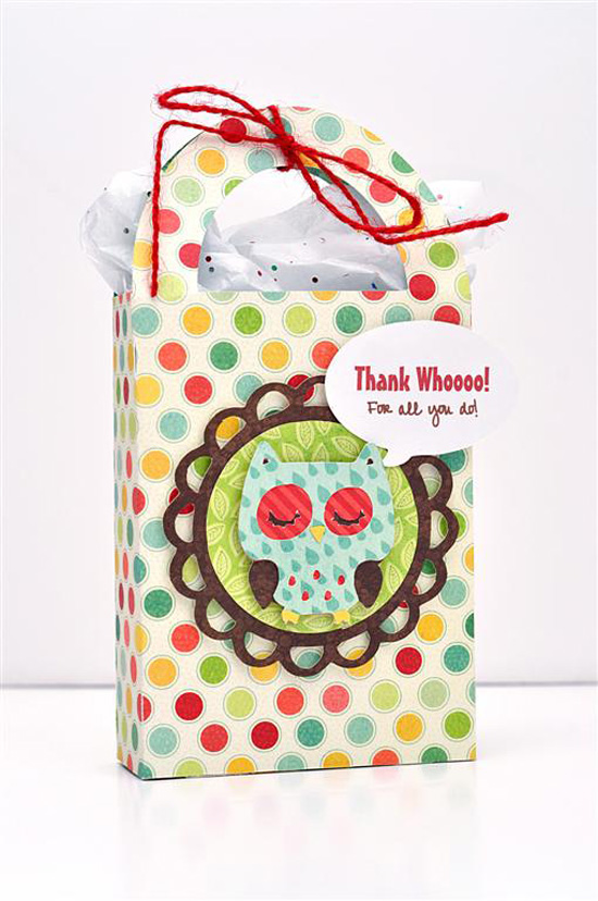 Thank Whoooo! for all you do! Made with the #Cricut!