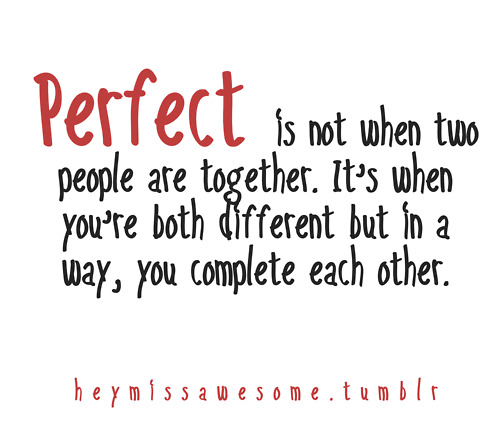 perfect #relationship #quotes #couple | We Know How To Do It