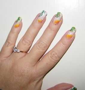 DIY Sharpie Nails, interesting!