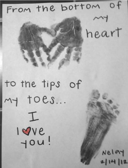 Kid Valentine Craft