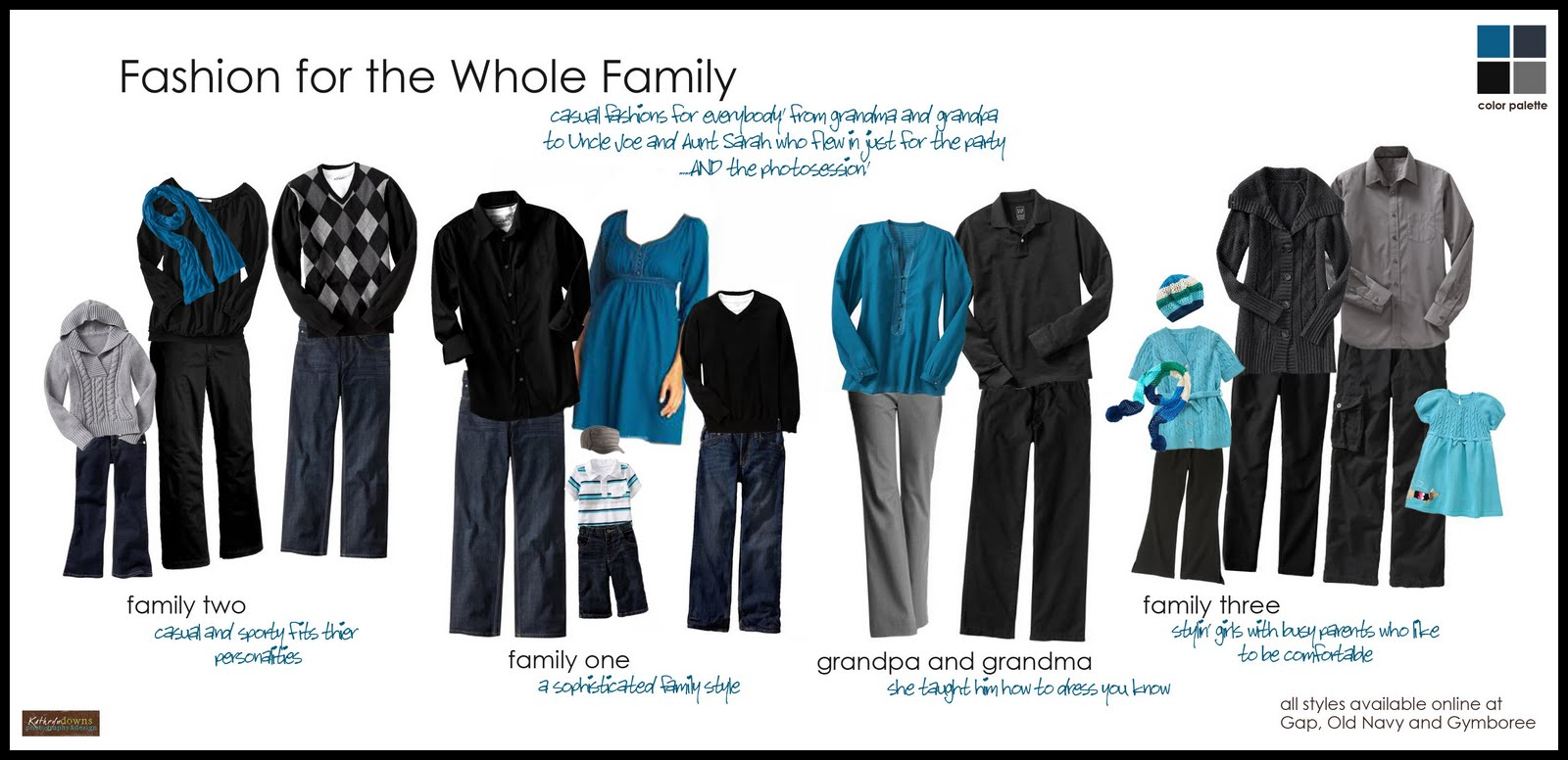 What to Wear – Extended Family