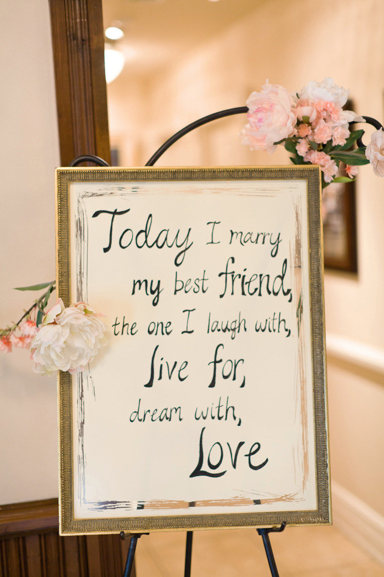 perfect wedding quote | We Know How To Do It