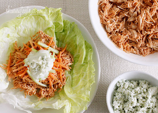 Crock Pot Buffalo Chicken Lettuce Wraps – All the flavors you love from buffalo