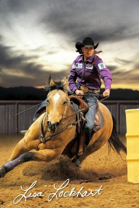 Lisa Lockhart Wpra Barrel Racer We Know How To Do It