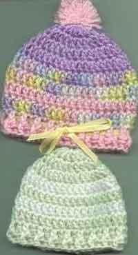 Bevs Easy Round Baby Hat