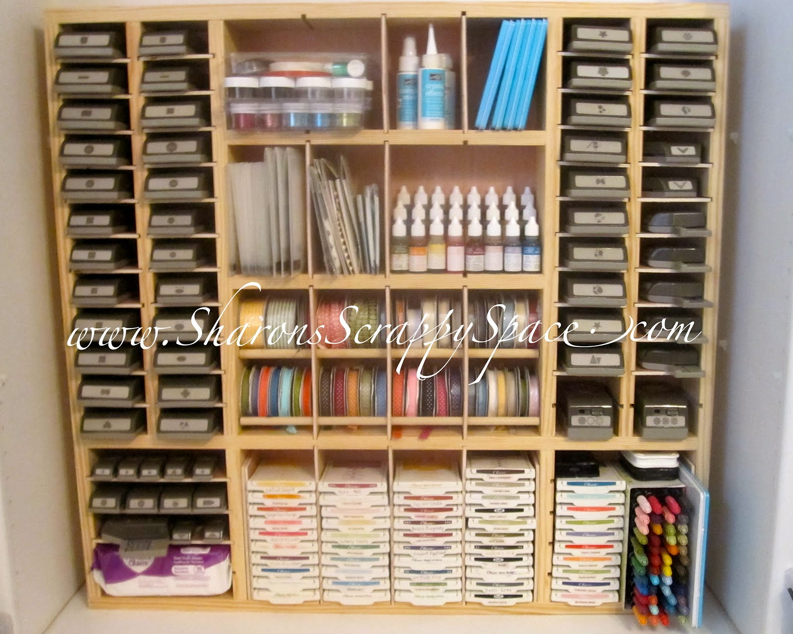 Stampin Up Scrapbooking Storage