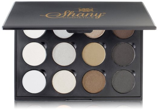 Shany 12 Color Palette, Smokey Eyes, 6-Ounce