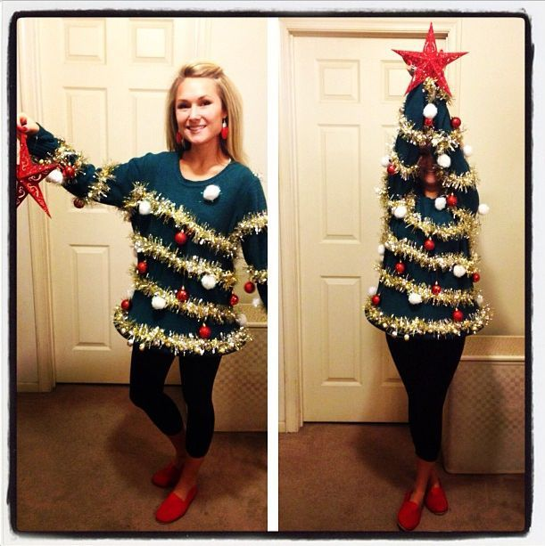 Christmas Tree ugly Sweater