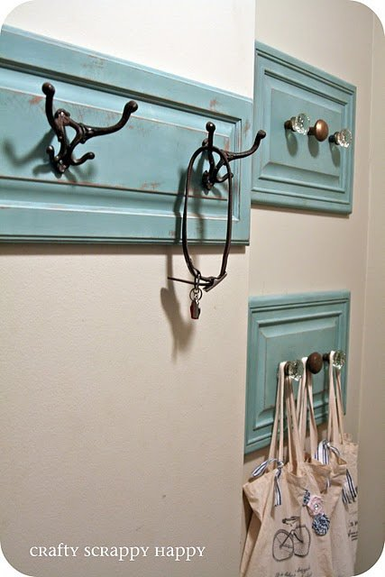Embellish Your Entryway With These Lovely Hooks -   31 DIY Ideas How To Use Old Windows
