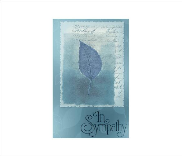 download sympathy card