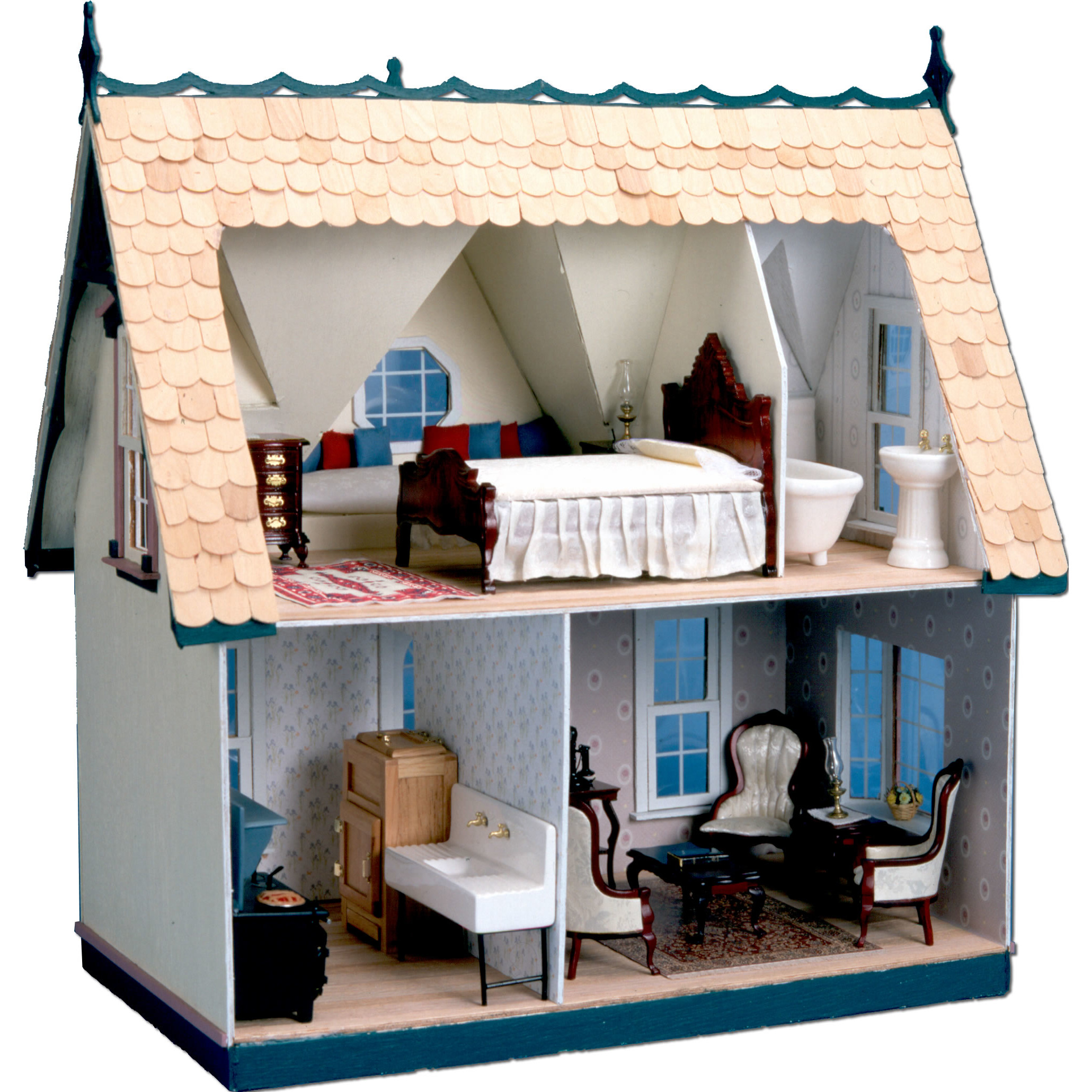 Playroom Dollhouses & Accessories Greenleaf Dollhouses Sku Dll1000
