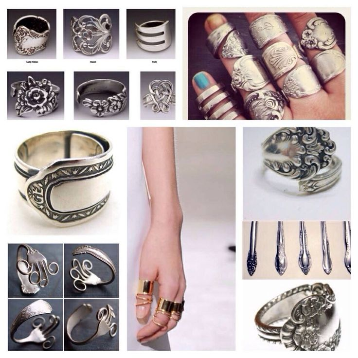 Spoon/fork jewelry Ideas -   Fork and Spoon Jewelry Collection