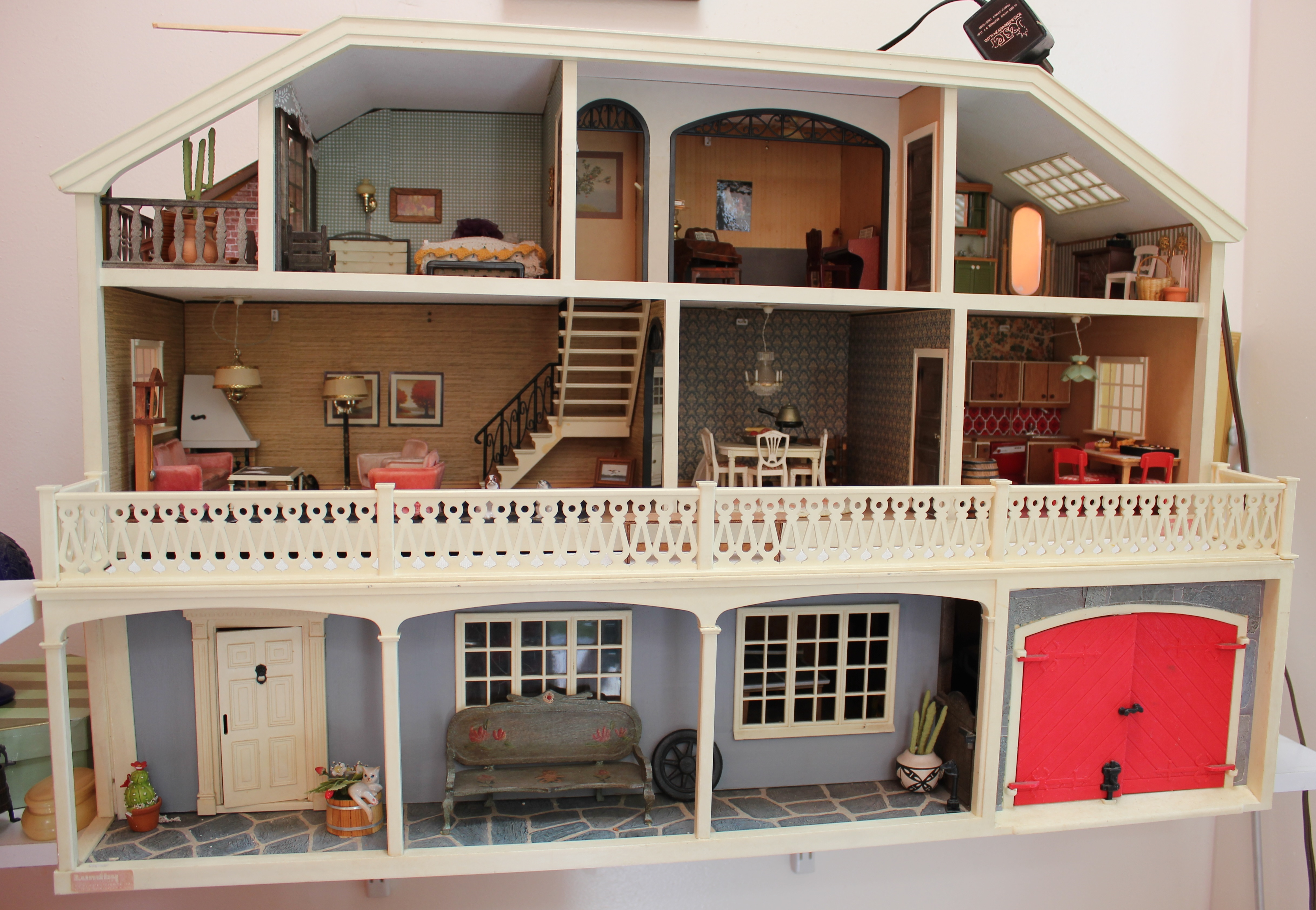 These Amazing Dollhouses Are Furnished By The Equally Amazing Brenda