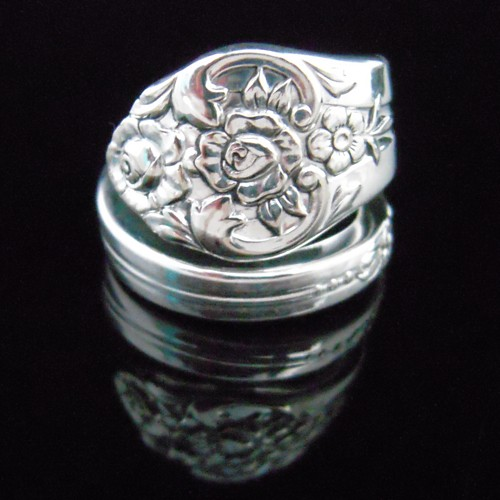 Fork and Spoon Jewelry Spoon Ring Plantation by MarchelloArt -   Fork and Spoon Jewelry Collection