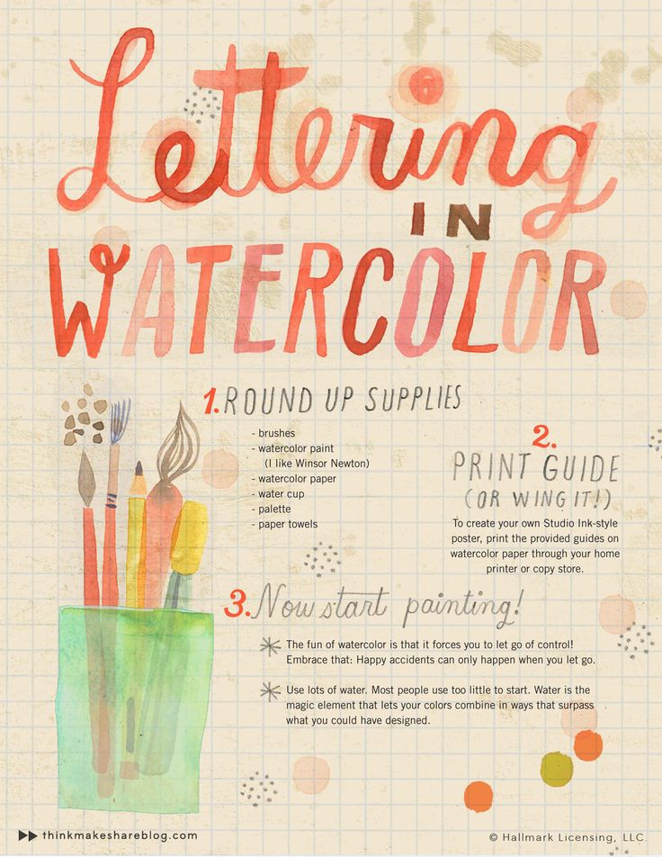 lettering-in-watercolor