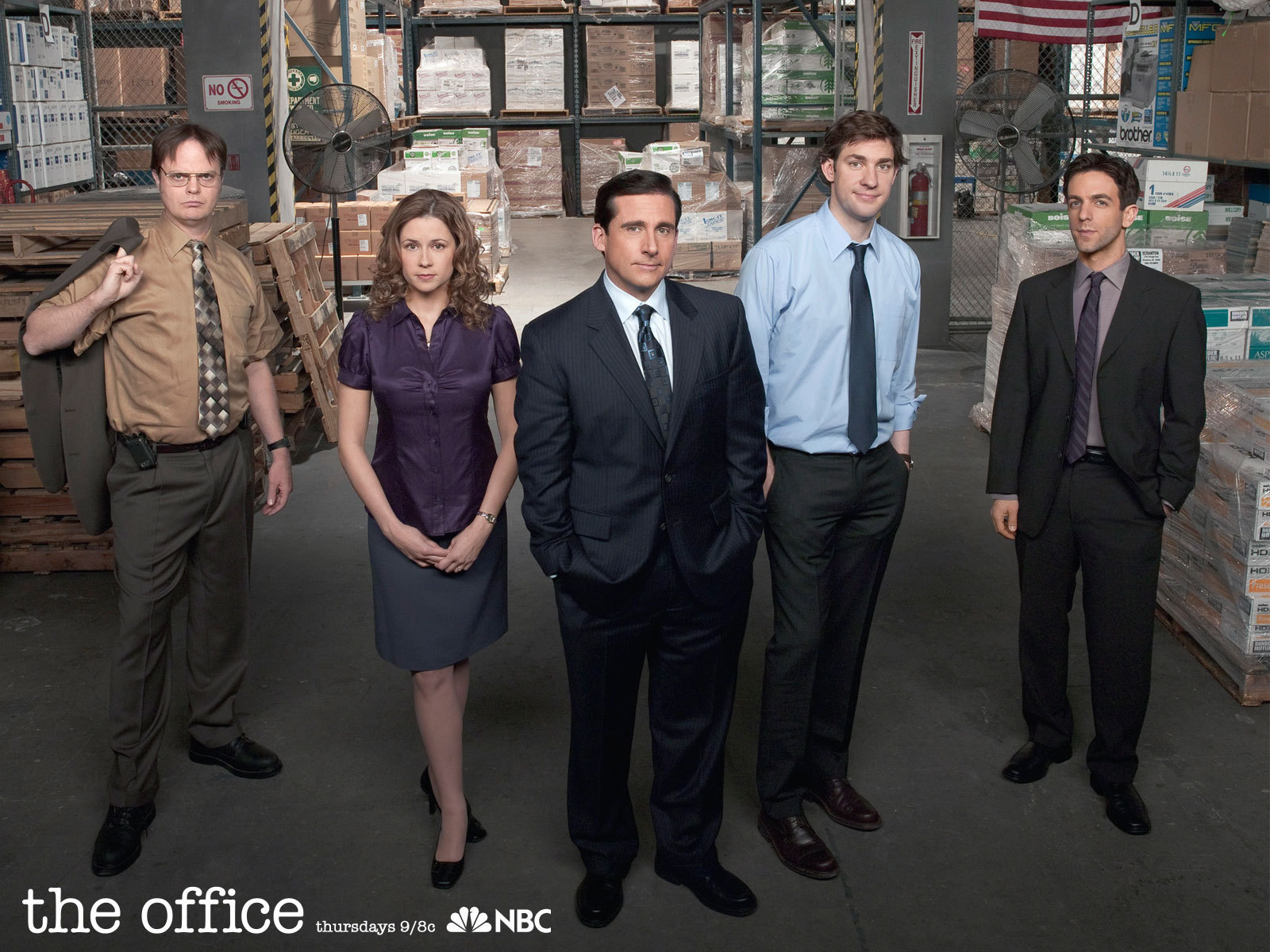 TV comedy series The Office.
