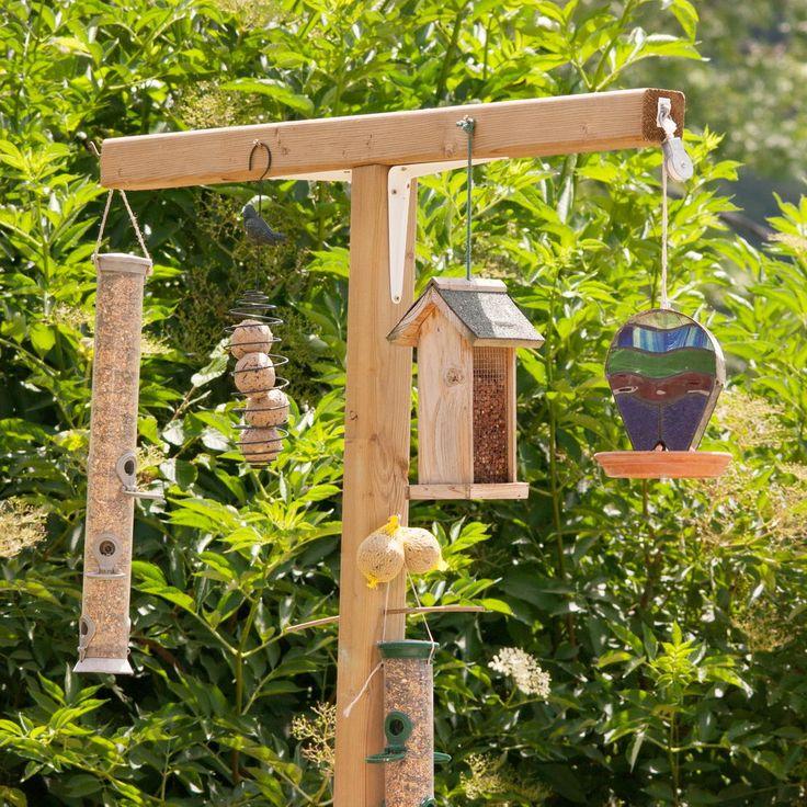 Bird Feeding Station ideas -   DIY Natural Bird Feeder