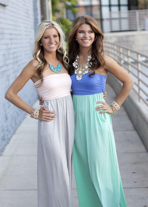 DIY maxis dresses
