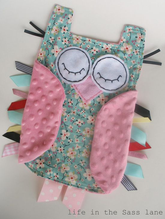 Hush little hoot owl (baby craft)