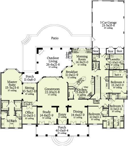 Dream Homes Floor Plans