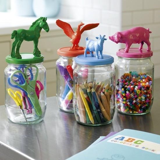Children's Craft Storage