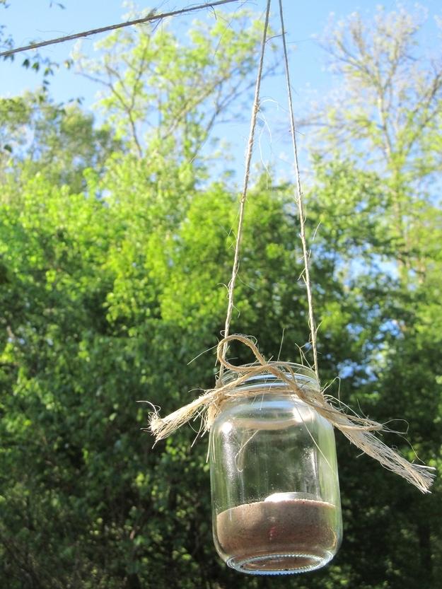 Hanging Tea Light Holder