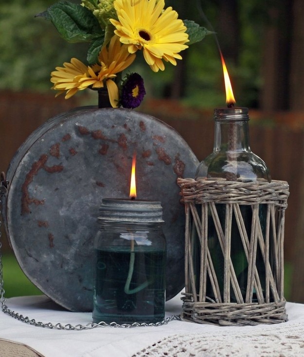 Make an Oil Lamp