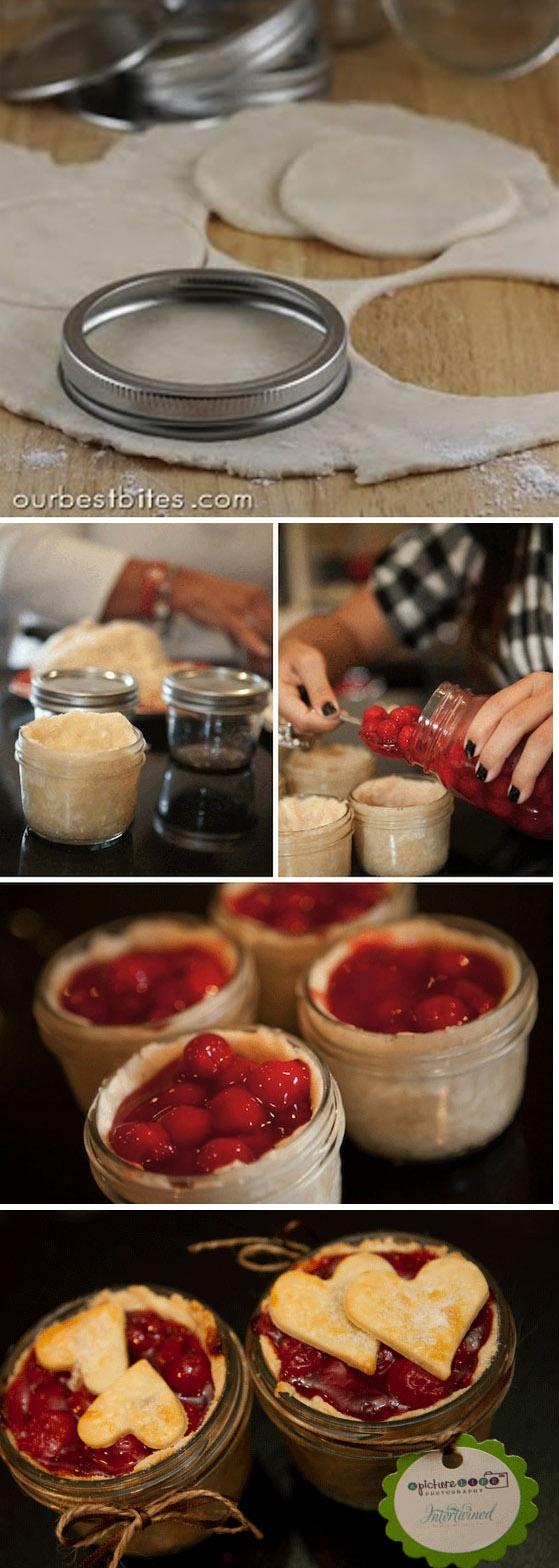Single-Serving Pie in a Jar