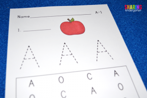 A is for Apple: Phonics Activities