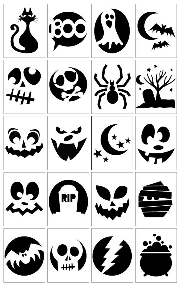 20 pumpkin carving templates