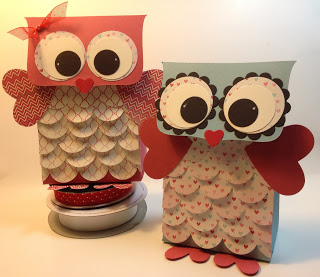 Owl Valentine Box & Owl Valentine Gift Bag