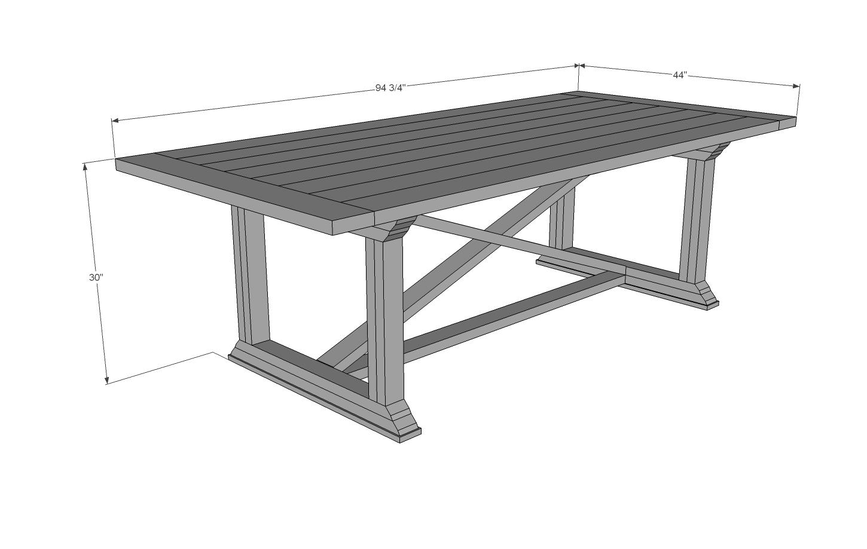 DIY Dining Table Tutorial