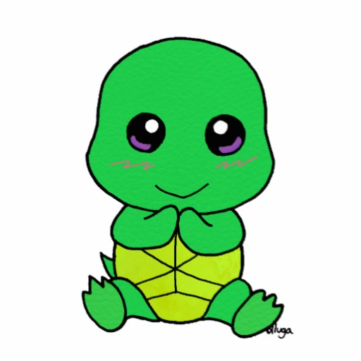 Cute Cartoon Baby Turtles -   Cute Turtle Pictures