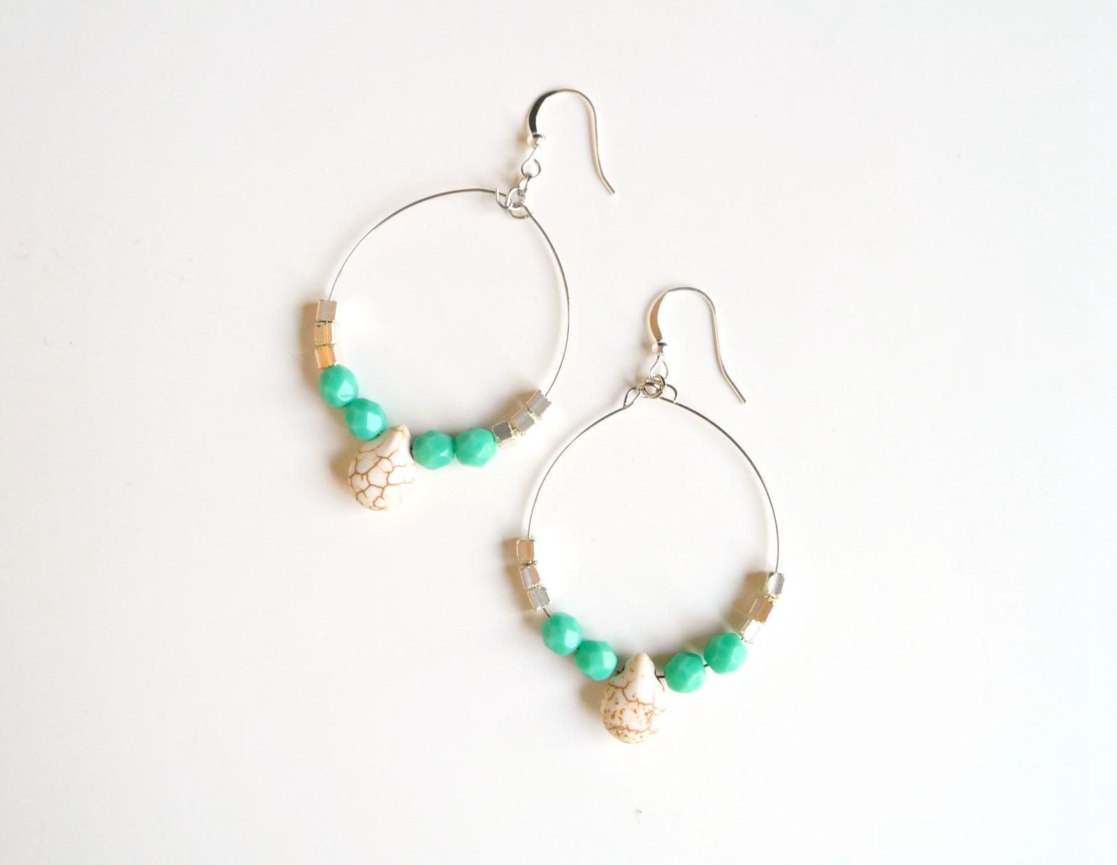 boho earrings jewelry tutorial
