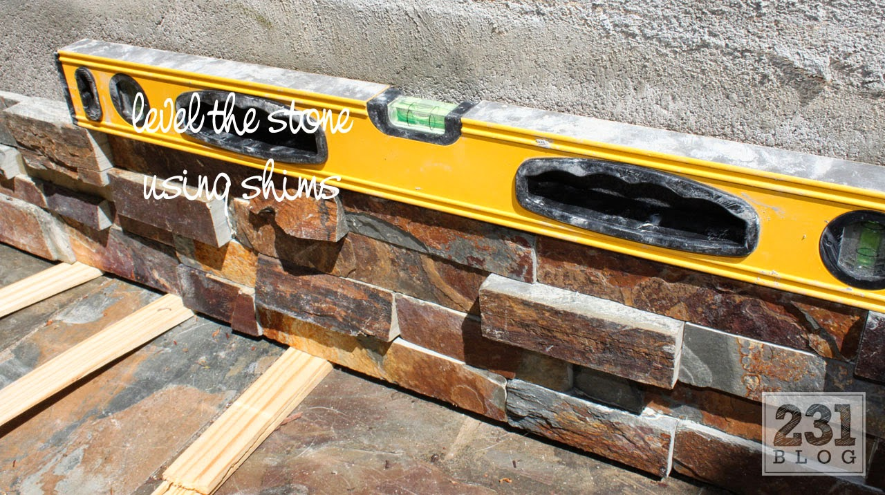 DIY SLATE LEDGE STONE PLANTER BOXES