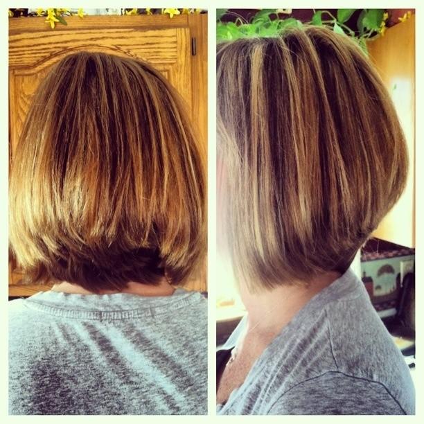 16 Chic Stacked Bob Haircut