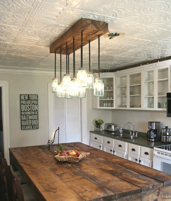 kitchen design ideas solid wood table