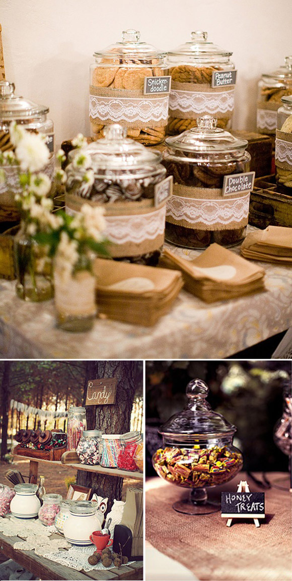 Candy Bar: a beautiful idea to sweeten your wedding.