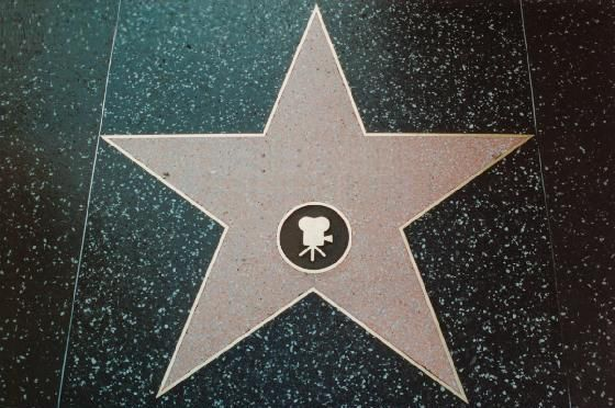 Walk of Fame Star Generator - type in your name and get your own star in Hollywood!