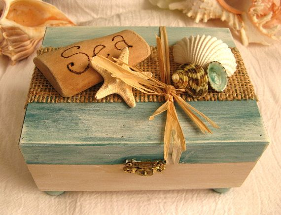 Ocean Treasure Box For Your Beach Decor We Know How To