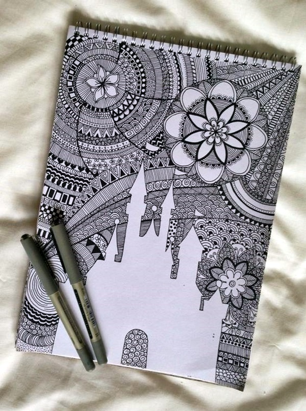 Absolutely Beautiful Zentangle patterns For Many Use (6)