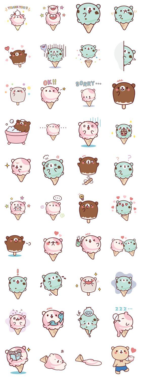 Mr. bear ice cream