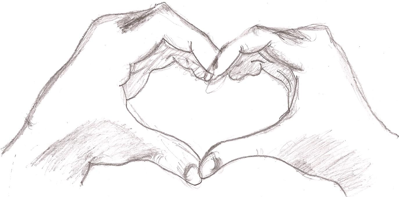 Открытки бумаги, открытки про любовь карандашом