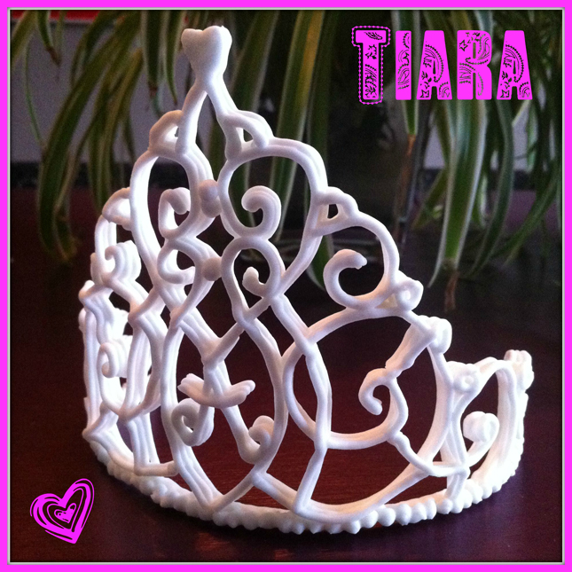 How-to tiara from royal icing